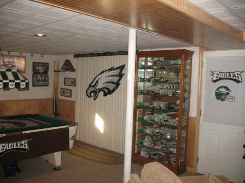 Eagles Man Cave Ideas : The eagles nest that started it all sportyblinds