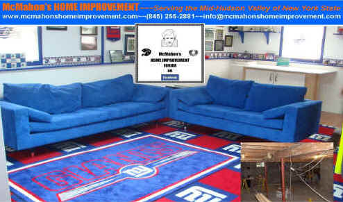 �We Have Some Rabid Giants Fans In NY And A Recent Basement Remodel  Project For A Client Of Our Company, McMahon�s Home Improvement In New  Paltz, ...