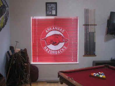Feedback Customized Logo Mini Blinds Vertical Blinds